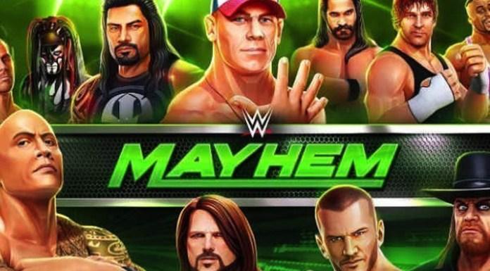 WWE Mayhem - App by Reliance Entertainment - InsideSport