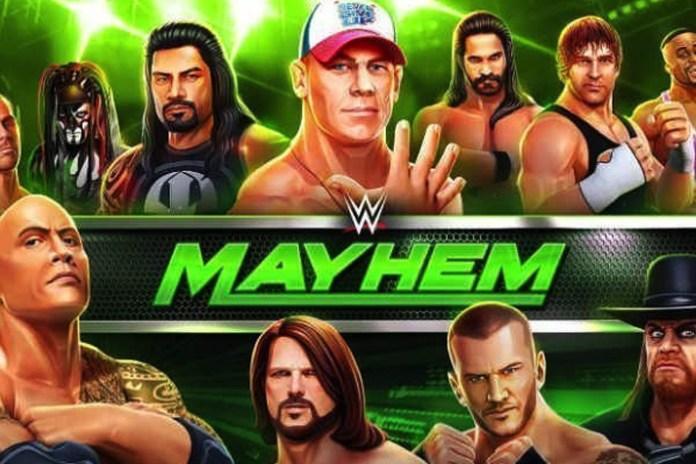 wwe mayhem,wwe legends and superstars,Reliance Games,World Wrestling Entertainment,WWE