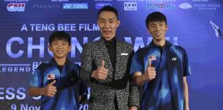 Lee Chong Wei biopic first trailer out - InsideSport