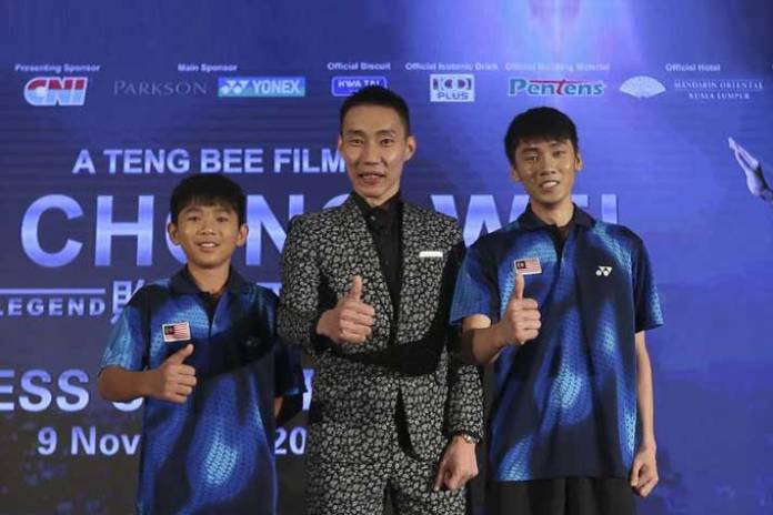 Lee Chong Wei biopic first trailer out - InsideSport