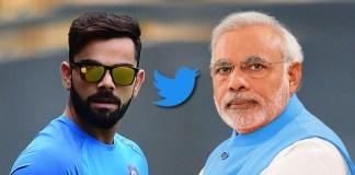 Kohli beats PM Modi in twitter strike rate - InsideSport