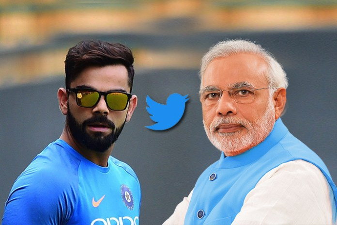 Kohli beats PM Modi in twitter strike rate - InsideSport