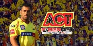 Chennai Super Kings partners with ACT Fibernet - InsideSport