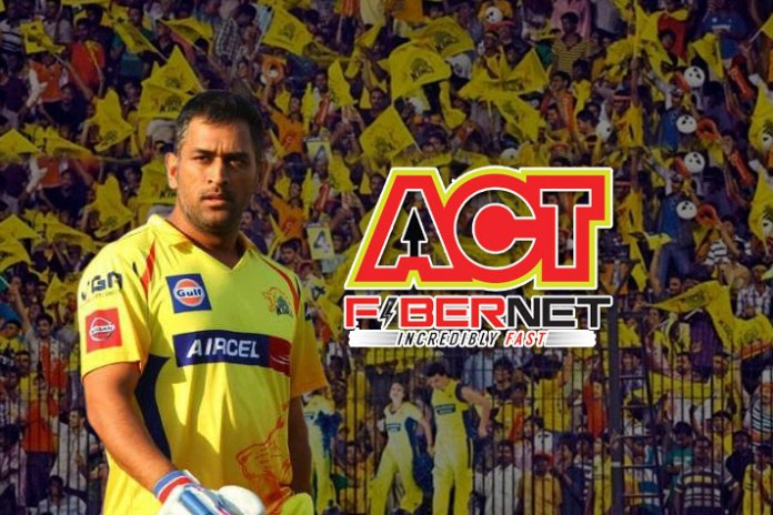 Chennai Super Kings partners with ACT Fibernet - InsideSport