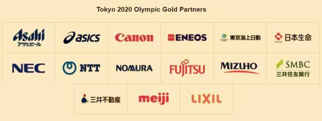 Tokyo 2020 Olympic Gold Partners - InsideSport