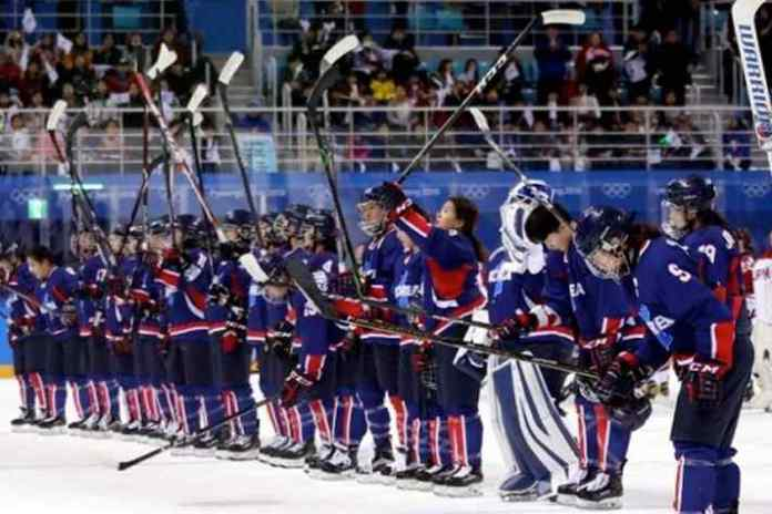 Unified Korean Women's Ice Hockey Team - InsideSport