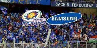 Samsung dials Mumbai Indians for title sponsorship rights! - InisdeSport