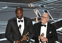 Kobe Bryant wins Oscar for animated short film 'Dear Basketball' - InsideSport
