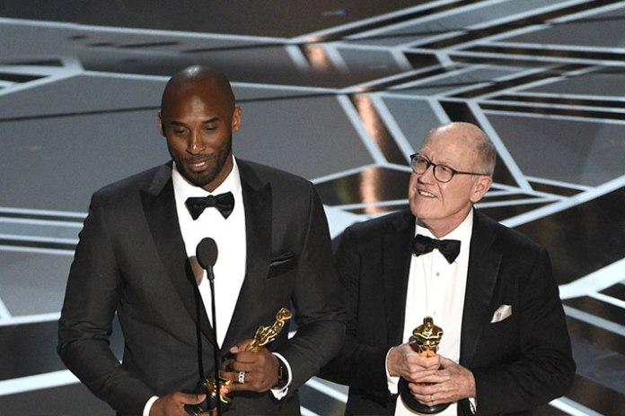 Kobe Bryant wins Oscar for animated short film 'Dear Basketball' - InsideSport