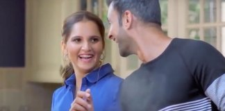 Sania Mirza with husband Shoaib Malik in Asian Ghee Pakistan TVC - InsideSport