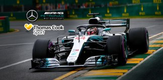 mercedes-amg petronas motorsport,mercedes-amg petronas f1 team,mercedes-amg petronas f1,thomas cook sport,Mercedes AMG Petronas partnership with Thomas Cook Sport