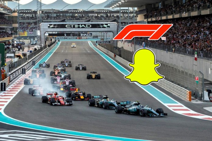 Snapchat extends Formula 1 deal for two seasons - InsideSport