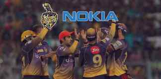 Nokia comes back to IPl as the title sponsor of KKR: Nokia reunites with Kolkata Knight Riders for IPL 2018 - InsideSport