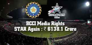 BCCI media rights: It is Star again @ ₹6,138.1 crore - InsideSport