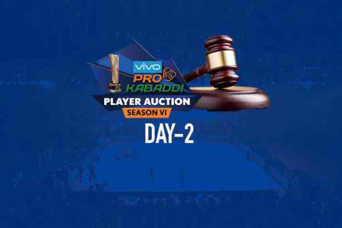 auctions,pkl auctions 2018,pkl auction day 2,Pro Kabaddi League Auction,PKL Auction Day 2 Live Update