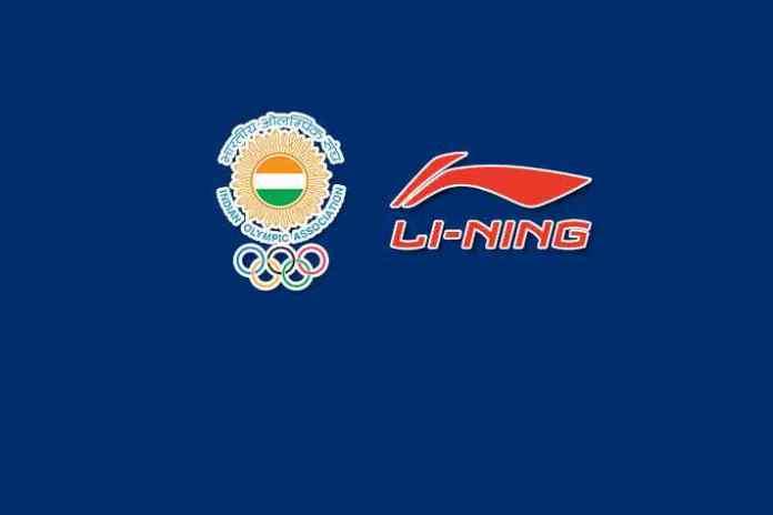 Indian Olympic Association: Li-Ning IOA's official sports apparel partner till Tokyo 2020 Olympics - InsideSport