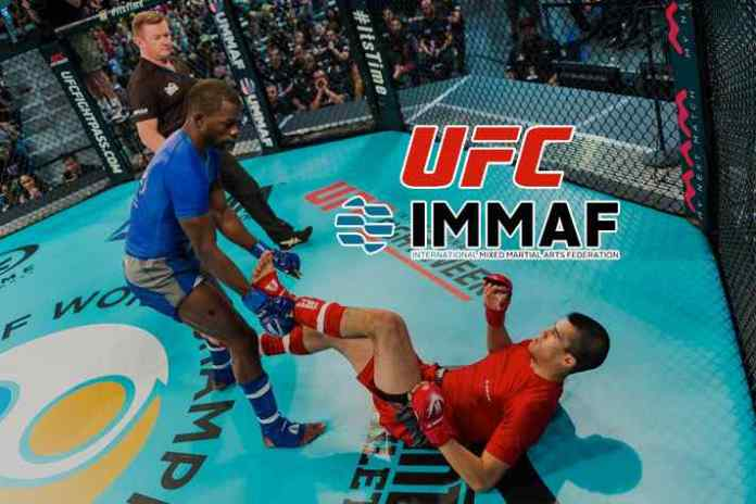 UFC announces extension of partnership with International Mixed martial Arts Federation (IMMAF) - InsideSport