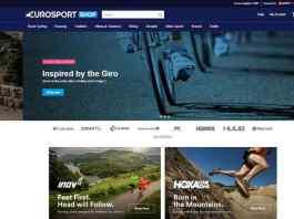 Eurosport Shop Eurosport further extends business interest with e-commerce platform - InsideSport