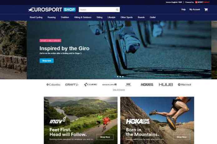 Eurosport Shop Eurosport further extends business interest with e-commerce platform - InsideSport