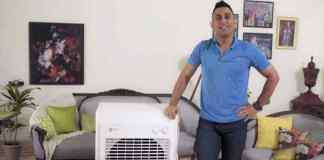 MS Dhoni: Dhoni aka 'Captain Cool' promotes India's first modular air cooler - InsideSport