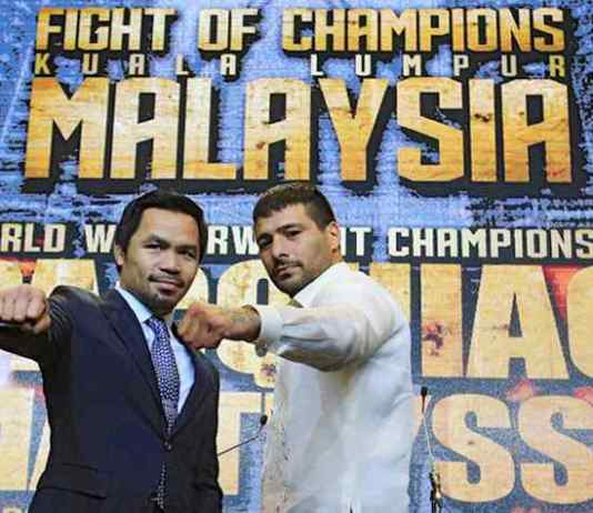 Manny Pacquiao: Pro Boxing: Havas Sports to market 'FIGHT OF CHAMPIONS' - InsideSport