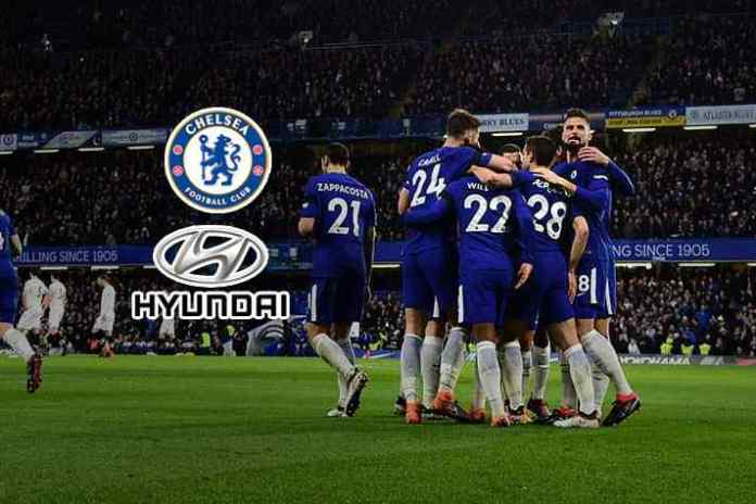 Chelsea-Hyundai sign record $68m sleeve sponsorship deal: Report - InsideSport