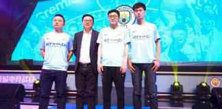 Manchester City Esports Team in China - InsideSport