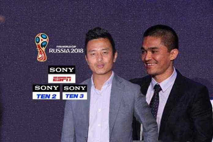 Baichung Bhutia and Sunil Chhetri to lead FIFA World Cup 2018 presentation panel on Sony - InsideSport