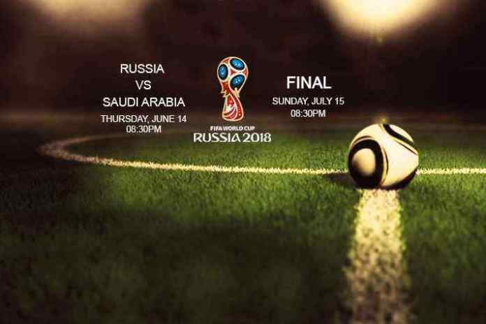 FIFA World Cup 2018 Schedule - InsideSport