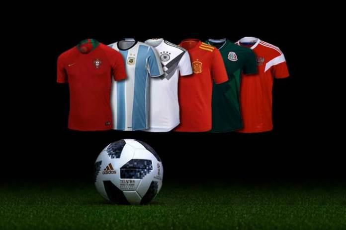 FIFA World Cup 2018 : Top 10 team kit sponsorship deals - InsideSport