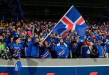 Iceland football supporters - InsideSport