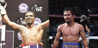 Indian Pro boxer Siddharth Verma (left) and Manny Pacquiao (right) - InsideSport