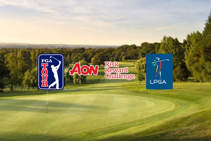 PGA Tour, LPGA announce tie-up for $1mn prize Aon Risk Reward Challenge - InsideSport