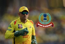 income tax,MS Dhoni,chennai super kings,Mahendra Singh Dhoni,MS Dhoni IPL