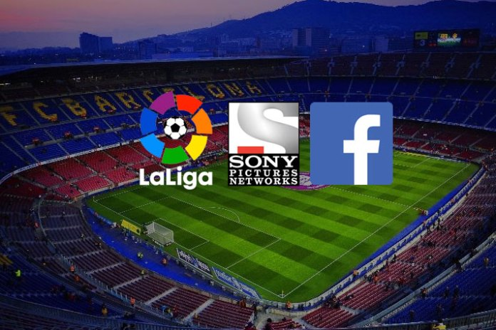 sony pictures network india,LaLiga rights for the India,facebook LaLiga Rights,peter hutton facebook,English premier league