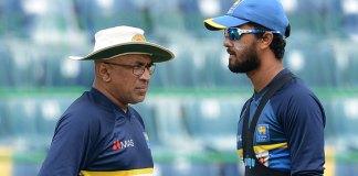 Lanka captain, captain Dinesh Chandimal, coach suspended, coach Chandika Hathurusinghe, lanka suspended coach Chandika Hathurusinghe