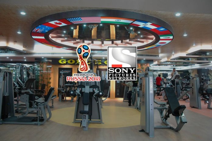 Sony Pix ties up with Gold's Gym for FIFA WC audience engagement - InsideSport