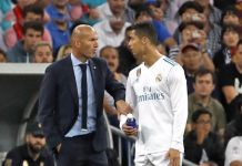 Zinedine Zidane with Cristiano Ronaldo - InsideSport