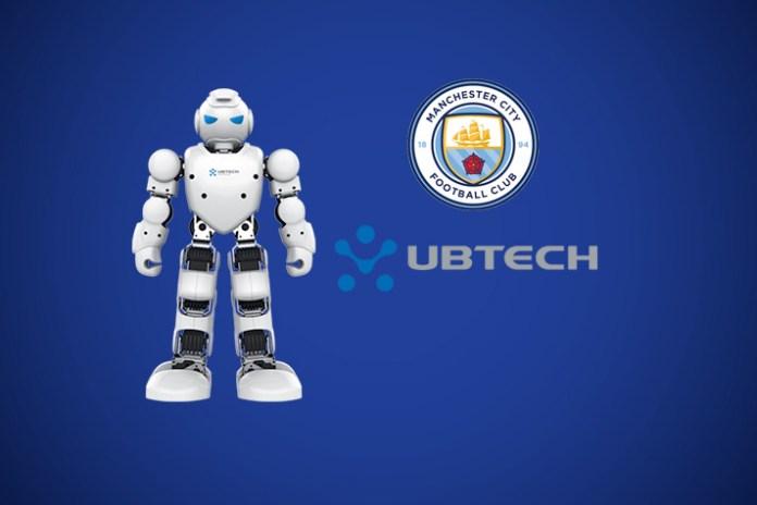 manchester city fc news,Man City fc robot partner,premier league manchester city news,man city fc latest partnership news,man city ubtech robotics deal