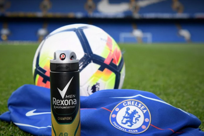 chelsea news, man city news, global sports sponsorship, chelsea global sponsor, rexona chelsea