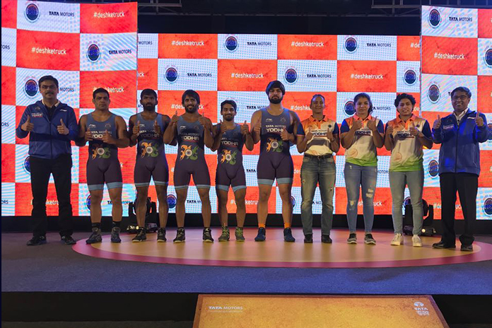 tata motors, indian wrestling, tata motors indian wrestling, wrestling federation india, tata motors wrestling partner