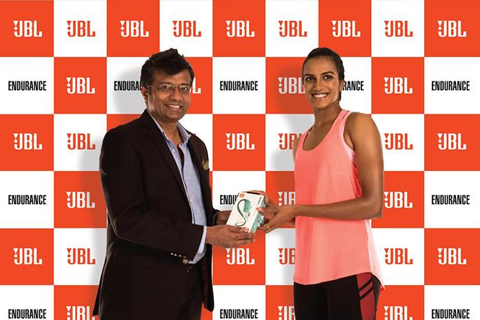JBL earphone,pv Sindhu JBL Brand Ambassador,jbl endurance,jbl endurance earphones,pv sindhu
