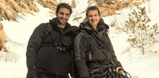 Roger Federer,roger Federer Bear Grylls,roger Federer Discovery Documentary,bear grylls,running wild with bear grylls
