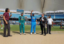 India-Pakistan toss ahead of the Asia Cup clash