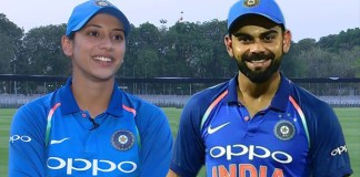 world's top 50 most marketable athletes,top 50 most marketable athletes,50 most marketable athletes,smriti mandhana,virat kohli records