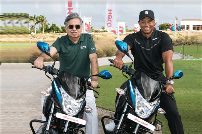 Hero MotoCorp sponsorship deal,Hero MotoCorp Sponsorships,Tiger Woods title sponsor,Hero World Challenge golf,2018 Hero World Challenge