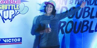 Ashwini Ponappa Red Bull Shuttle Up,Ashwini ponappa Red Bull tournament,Red Bull Shuttle Up,ashwini ponappa India's badminton player,Red Bull women's doubles tournament in India
