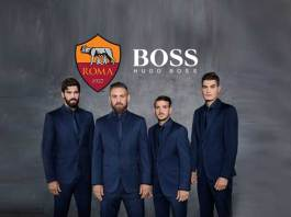 AS Roma extends deal with Hugo Boss for 2018-19 season