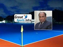 Md Shahid Astro Turf Stadium,Great Sports Infra,Md Shahid Hockey Stadium,FIH Certified Hockey Stadiums,MP Murugesh Memorial hockey tournament