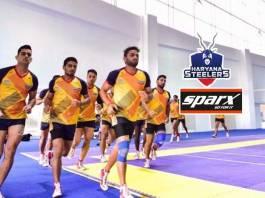 Haryana Steelers Sparx sponsorship,Haryana Steelers footwear partners,Pro Kabaddi League,Haryana Steelers sponsorships,JSW Sports Pro Kabaddi league Haryana Steelers